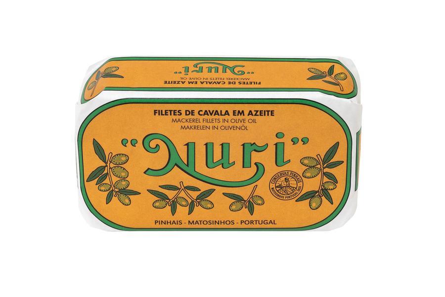 Filetes Cavala Azeite NURI